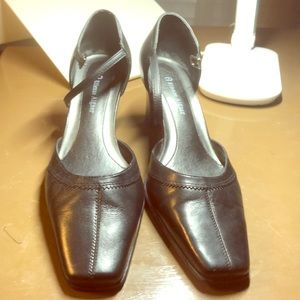 Etienne Aigner Black high heal shoes